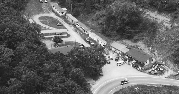 Vintage Aerial photo from 1998 in Lawrence County, KY