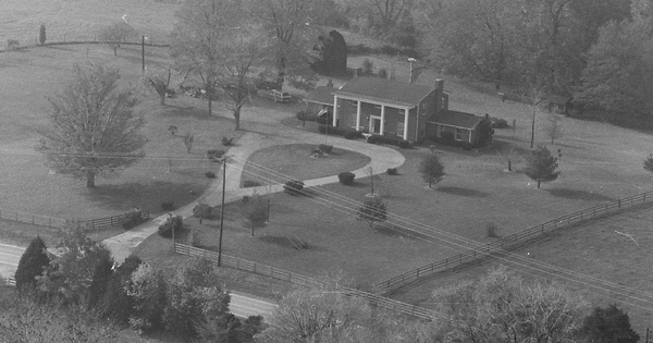 Vintage Aerial photo from 1978 in Oldham County, KY