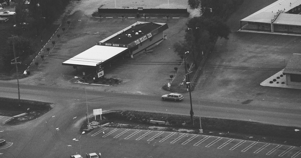 Vintage Aerial photo from 1983 in Shelby County, IN