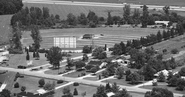 Vintage Aerial photo from 1979 in Shelby County, IN