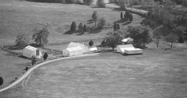 Vintage Aerial photo from 2001 in Washington County, MD