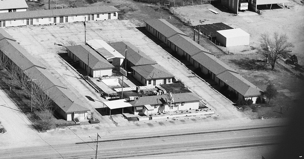 Vintage Aerial photo from 1987 in Nolan County, TX