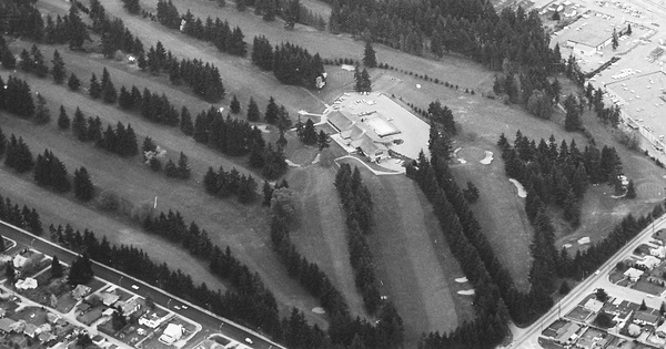 Vintage Aerial photo from 1971 in Snohomish County, WA