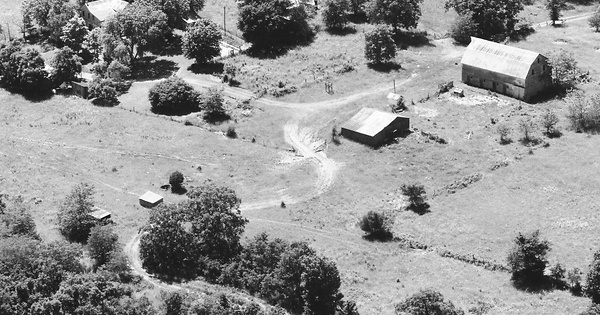 Vintage Aerial photo from 1987 in Osage County, MO
