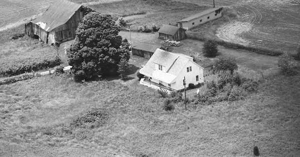 Vintage Aerial photo from 1995 in Brown County, OH
