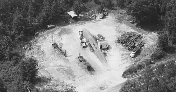 Vintage Aerial photo from 1984 in DeKalb County, AL