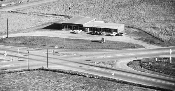 Vintage Aerial photo from 1983 in Meriwether County, GA