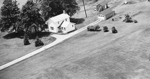 Vintage Aerial photo from 1969 in Beaver County, PA