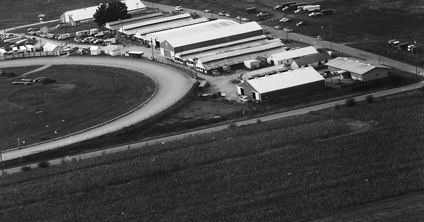 Vintage Aerial photo from 1988 in Henry County, IL