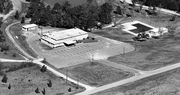 Vintage Aerial photo from 1965 in Iredell County, NC