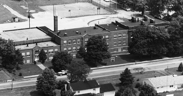Vintage Aerial photo from 1975 in Ross County, OH