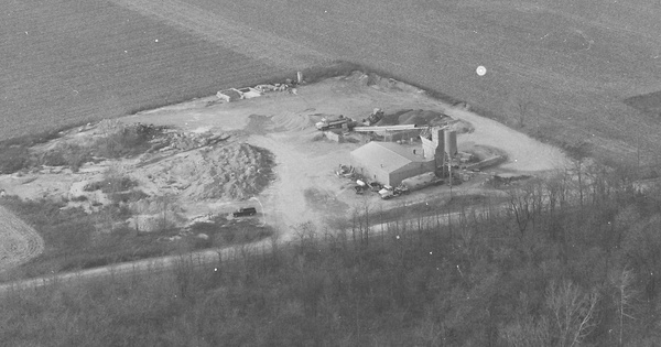 Vintage Aerial photo from 1999 in Henry County, OH