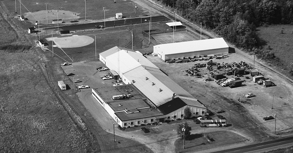 Vintage Aerial photo from 1982 in Onondaga County, NY