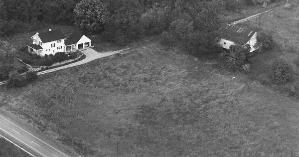 Vintage Aerial photo from 1968 in Warren County, OH