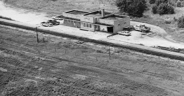 Vintage Aerial photo from 1978 in Appanoose County, IA