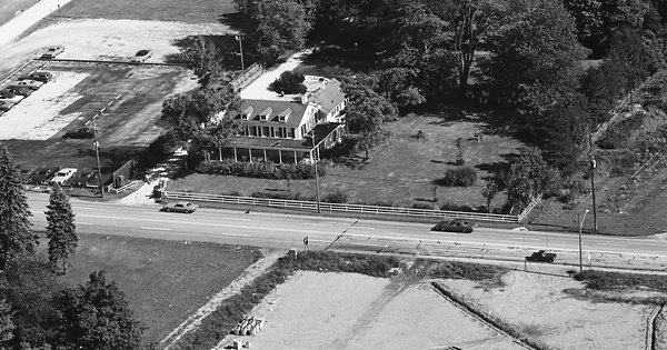 Vintage Aerial photo from 1970 in Lake County, OH