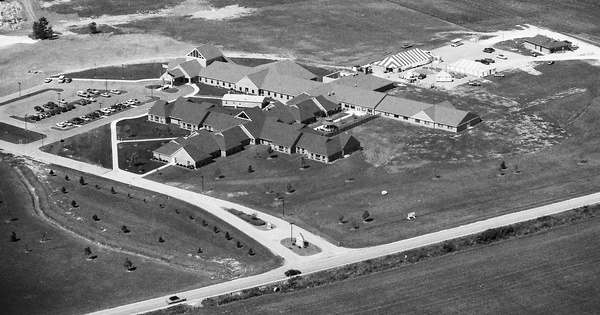 Vintage Aerial photo from 1993 in Wood County, OH