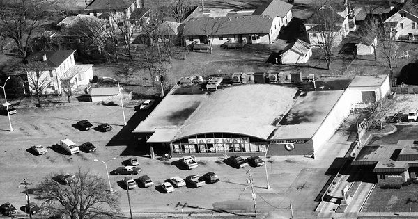 Vintage Aerial photo from 1988 in Henry County, MO