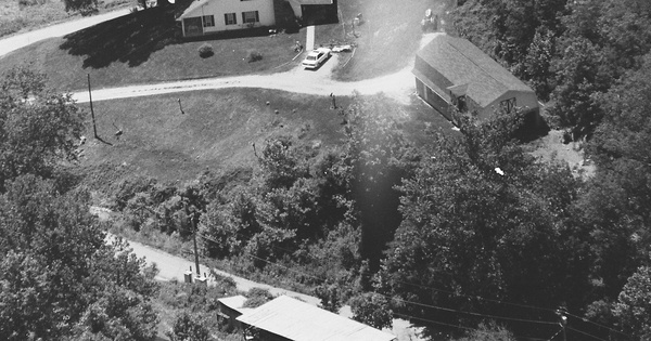 Vintage Aerial photo from 2001 in Cabell County, WV