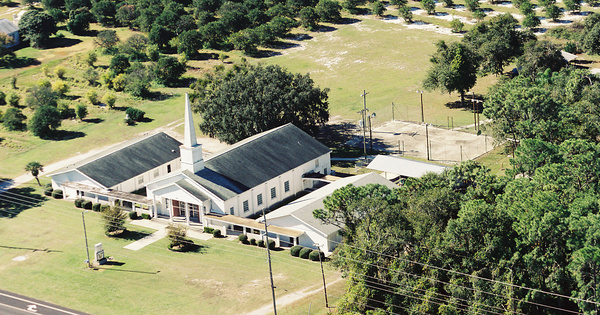 Vintage Aerial photo from 2002 in Hillsborough County, FL