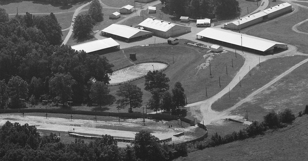 Vintage Aerial photo from 1985 in Lawrence County, IN