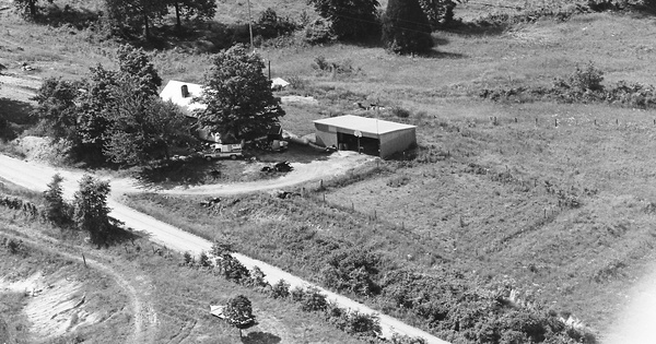 Vintage Aerial photo from 1980 in Ohio County, KY