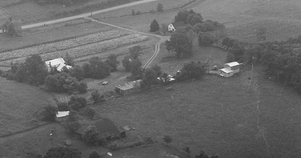 Vintage Aerial photo from 1979 in Adair County, KY
