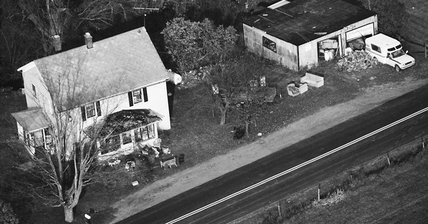 Vintage Aerial photo from 1989 in Montgomery County, NY