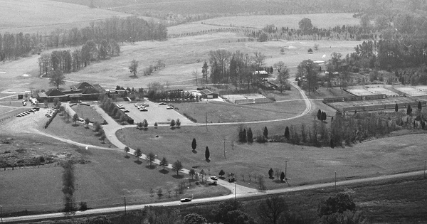Vintage Aerial photo from 1982 in Cabarrus County, NC
