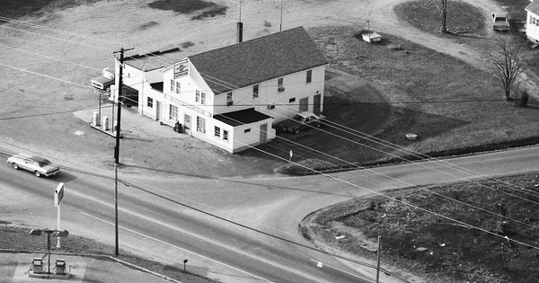 Vintage Aerial photo from 1987 in Stafford County, VA
