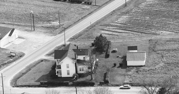 Vintage Aerial photo from 1994 in Hertford County, NC