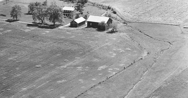 Vintage Aerial photo from 1978 in Clark County, OH