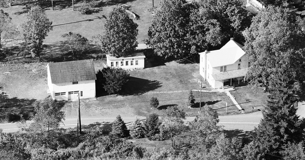 Vintage Aerial photo from 1984 in Monroe County, PA