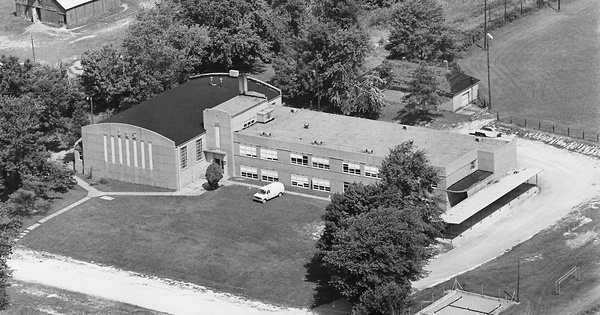 Vintage Aerial photo from 1980 in Daviess County, KY