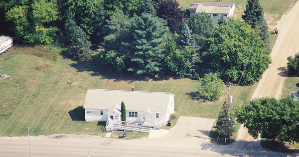 Vintage Aerial photo from 2002 in Missaukee County, MI