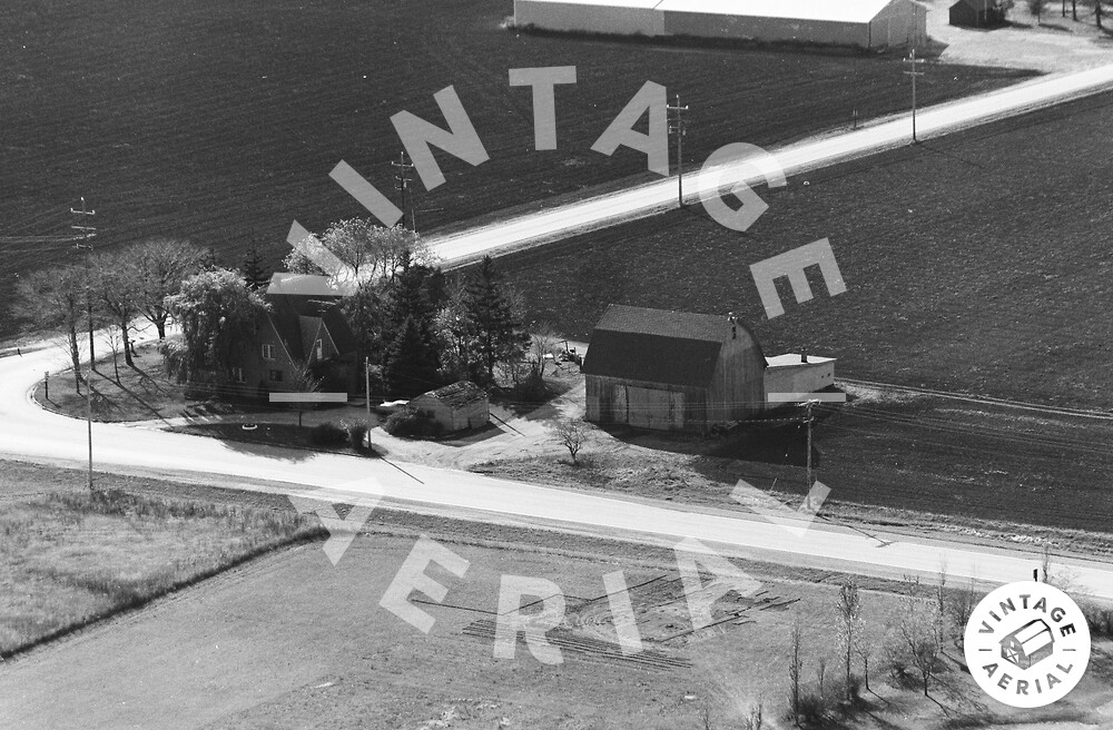 Vintage Aerial | Wisconsin | Kenosha County | 1974 | 21-KKE-26