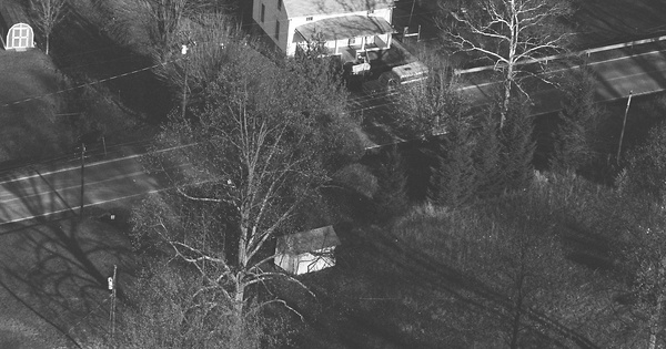 Vintage Aerial photo from 1984 in Monongalia County, WV