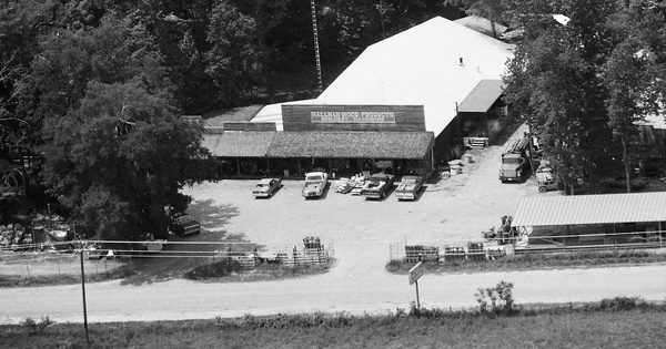Vintage Aerial photo from 1989 in Putnam County, GA