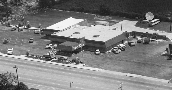 Vintage Aerial photo from 1985 in Wayne County, GA