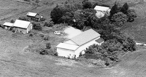 Vintage Aerial photo from 1967 in DeKalb County, IN