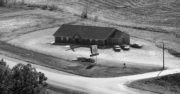Vintage Aerial photo from 1977 in Dubois County, IN