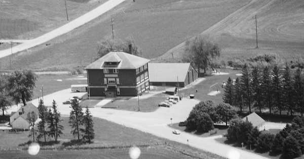 Vintage Aerial photo from 1979 in Clayton County, IA