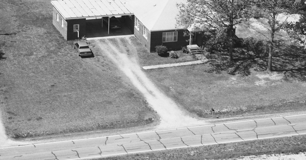 Vintage Aerial photo from 1986 in Wake County, NC
