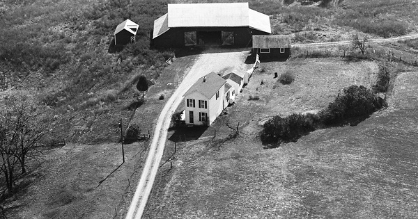 Vintage Aerial photo from 1964 in Greene County, OH