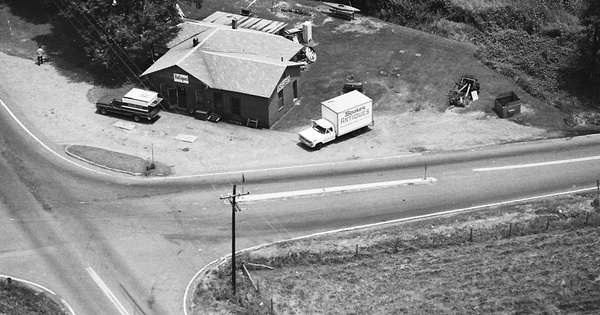 Vintage Aerial photo from 1982 in Lincoln County, NC