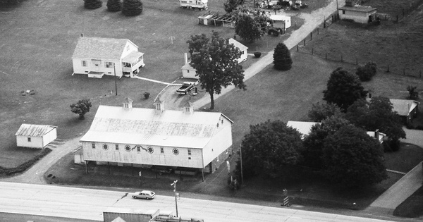 Vintage Aerial photo from 1992 in Berks County, PA