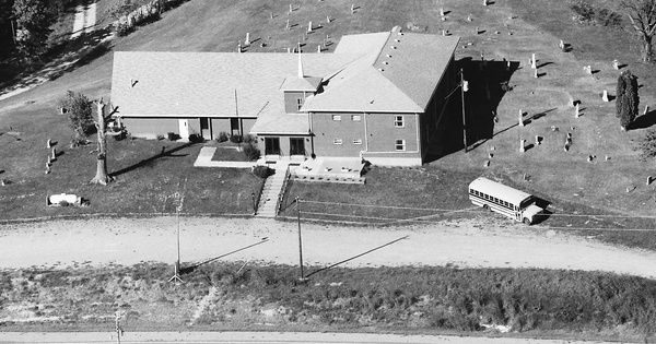 Vintage Aerial photo from 1986 in Spencer County, KY