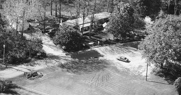 Vintage Aerial photo from 1989 in Hamilton County, IN