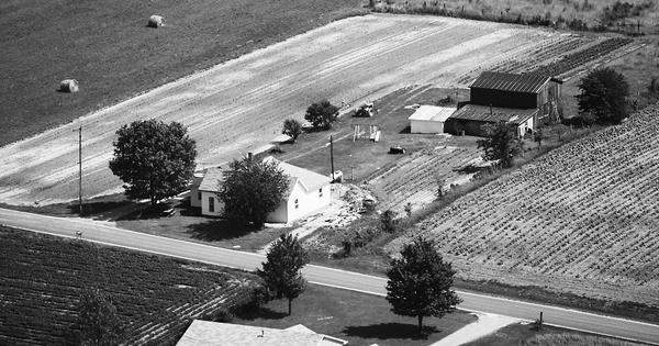 Vintage Aerial photo from 1977 in Jefferson County, IN