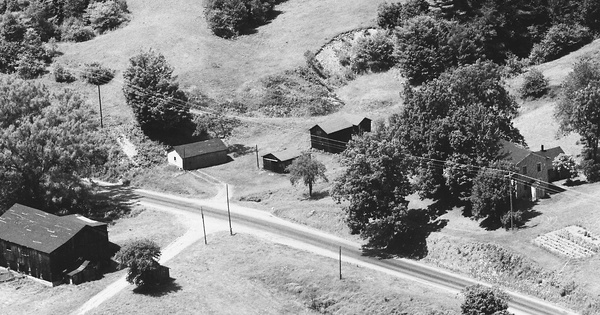 Vintage Aerial photo from 1985 in Warren County, PA